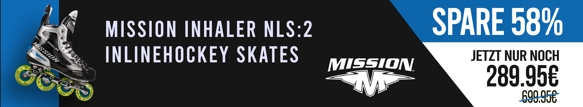 Mission NLS2 Inline Hockey Skates Sale
