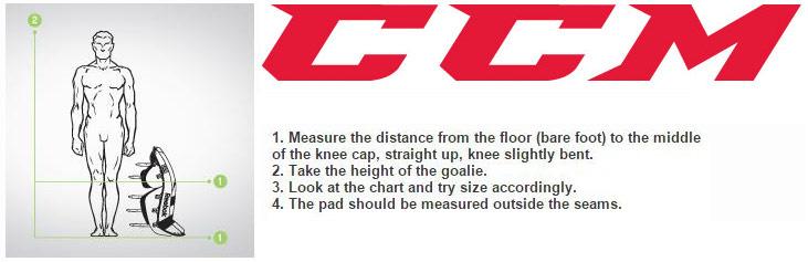 Hockeyshop Forster Goalie Sizing Charts